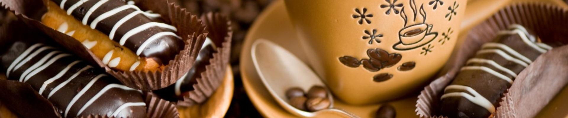 Чай, кофе и кондитерские изделия